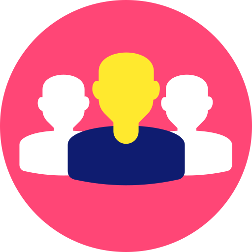 company, crowd, group, people, team, teamwork icon icon