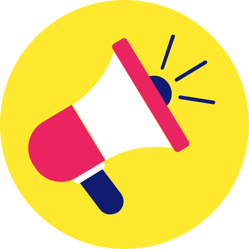 ads, announcement, bullhorn, loud, marketing, megaphone icon icon