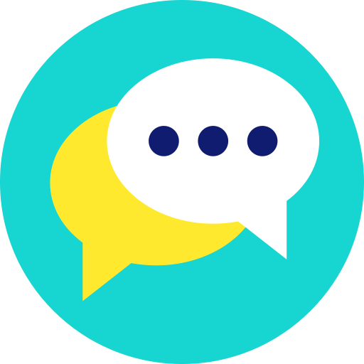 bubble, chat, comments, communication, dialogue, help, support icon icon