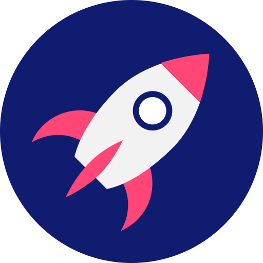 brand, energy, fast, project launch, rocket, space, startup icon icon