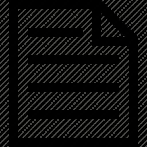 document, note icon