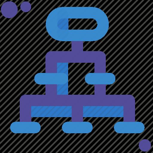 chart, hierarchy, organigrama, organization, schema, scheme icon
