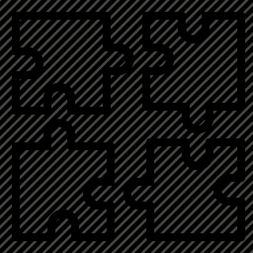 business, design, finance, puzzle, web icon