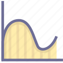 analysis, chart, report, statistics, trend icon