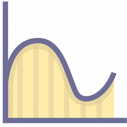 analysis, chart, report, statistics, trend icon