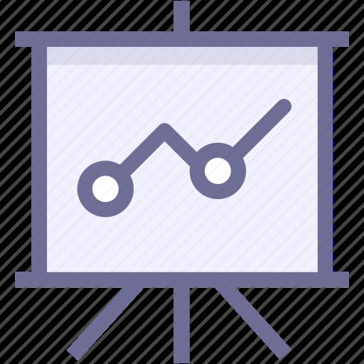 learning, marketing, slideshow, training icon