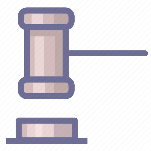 auction, legal, license, sell icon