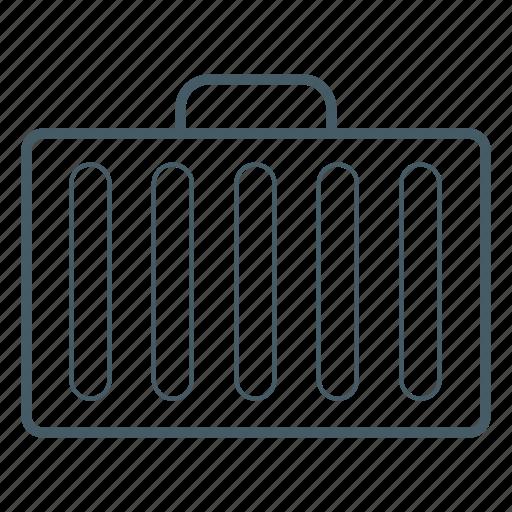 bag, briefcase, luggage, travel, vaction icon