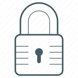 locked, protect, secure, security icon