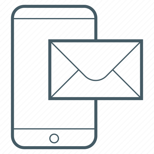 communication, email, mail, phone icon