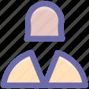 avatar, book keeper, female, profile, staff, user icon