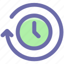 clock, loading, loading time, searching time, timer icon