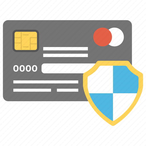 credit card, data encryption, safe banking, secure payment, secure transaction icon