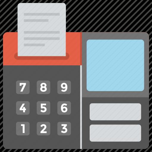 facsimile, fax machine, office supplies, telecopying, telefax icon