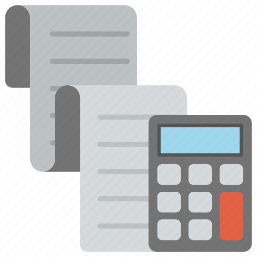 accounting, bill, bookkeeping, calculation, invoice icon