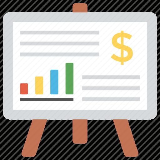 analytics, chart, graph, presentation, statistics icon