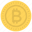 bitcoin, cryptocurrency, digital currency, digital money, virtual coin icon