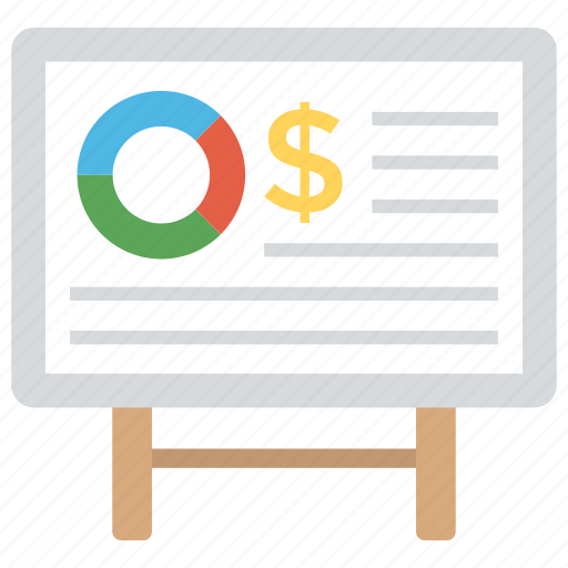 business analytics, business graph, presentation, statistics, whiteboard graph icon