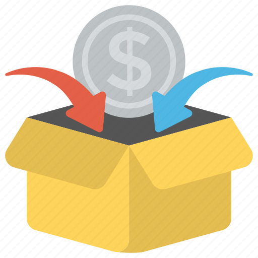 charity, crowdfunding, fundraising, money contribution, money donations icon