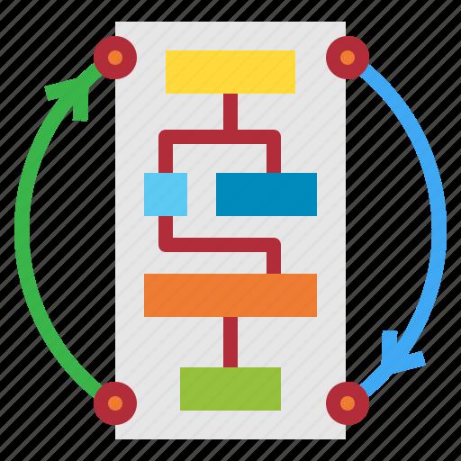business, plan, tactics, workflow icon