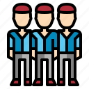 business, employee, officer, worker icon