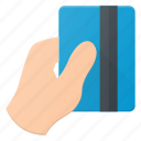 bank, card, finance, hand, pay, payment, pos icon