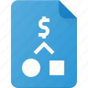 analysis, business, paper, plan, process, strategy icon