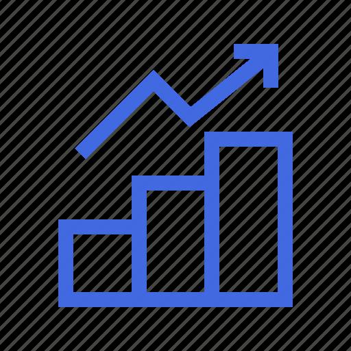 ad, analytics, bar, chart, diagram, graph, shopping icon