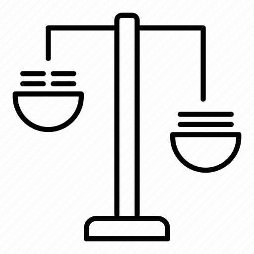 balance, judge, justice, justice scale, law, laws, scales icon