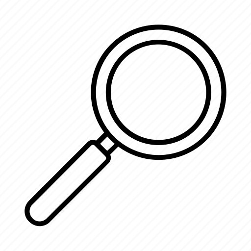 idea, invention, loupe, magnifying glass, search, seo and web, zoom icon