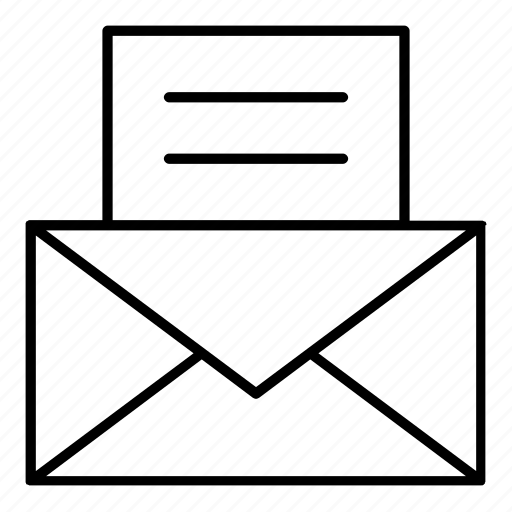 business and finance, communcations, email, letter, mail, postcard, stamp icon