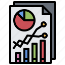business, finances, graph, graphic, statistics, stats icon