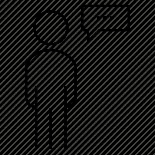 Business, meeting, presentation, speech icon - Download on Iconfinder