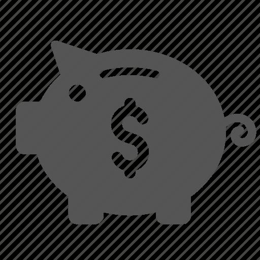 bank, coin, coins, finance, piggy, piggy bank icon