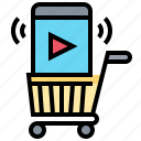 cart, commerce, market, online, shopping
