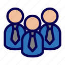 business, group, team, teamwork icon