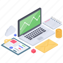 budget report, business analytics, business app, business infographic, business report, data chart, statistics icon