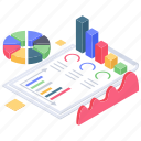business data, business infographic, business monitoring, business report, financial analytics, financial infographic icon