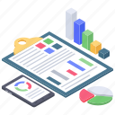 business data, business infographic, business report, data infographic, financial analytics icon