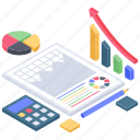 analytics, business data, business document chart, business growth, growth chart, infographic, statistics icon