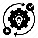 concept, gear, idea, subject icon