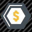 coin, dollar, euro, inflation, money