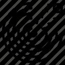 aim, arrow, goal, objective, success icon