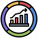 business, chartgraphic, finances, financial, presentation, statistics icon