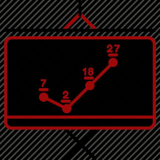 analytics, chart, finance, graph, growth, sale icon
