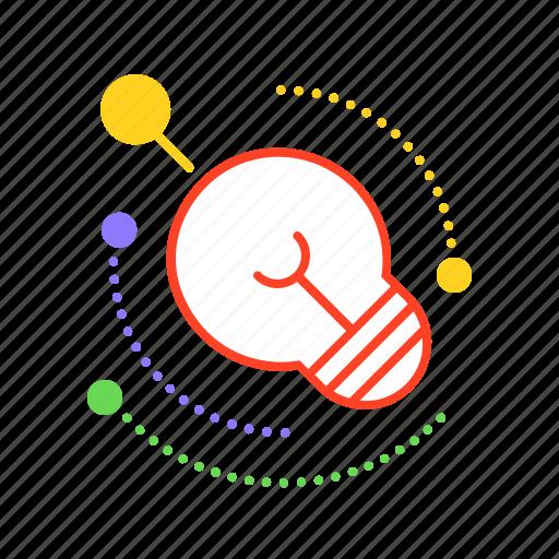 brainchild, brainstorming, concept, idea, notion, process, thinking icon