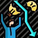 arrow, attack, broken, businessman, fail, ideas, light bulb