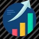 arow, business, graph, grow, growth, presentation