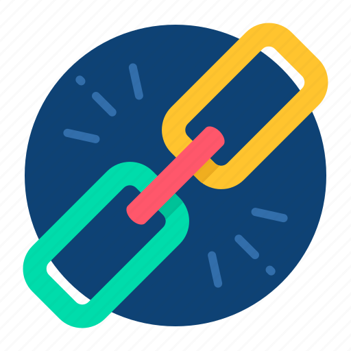 business, chain, connection, joint, link icon