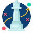 business, plan, solution, strategy, tactics icon
